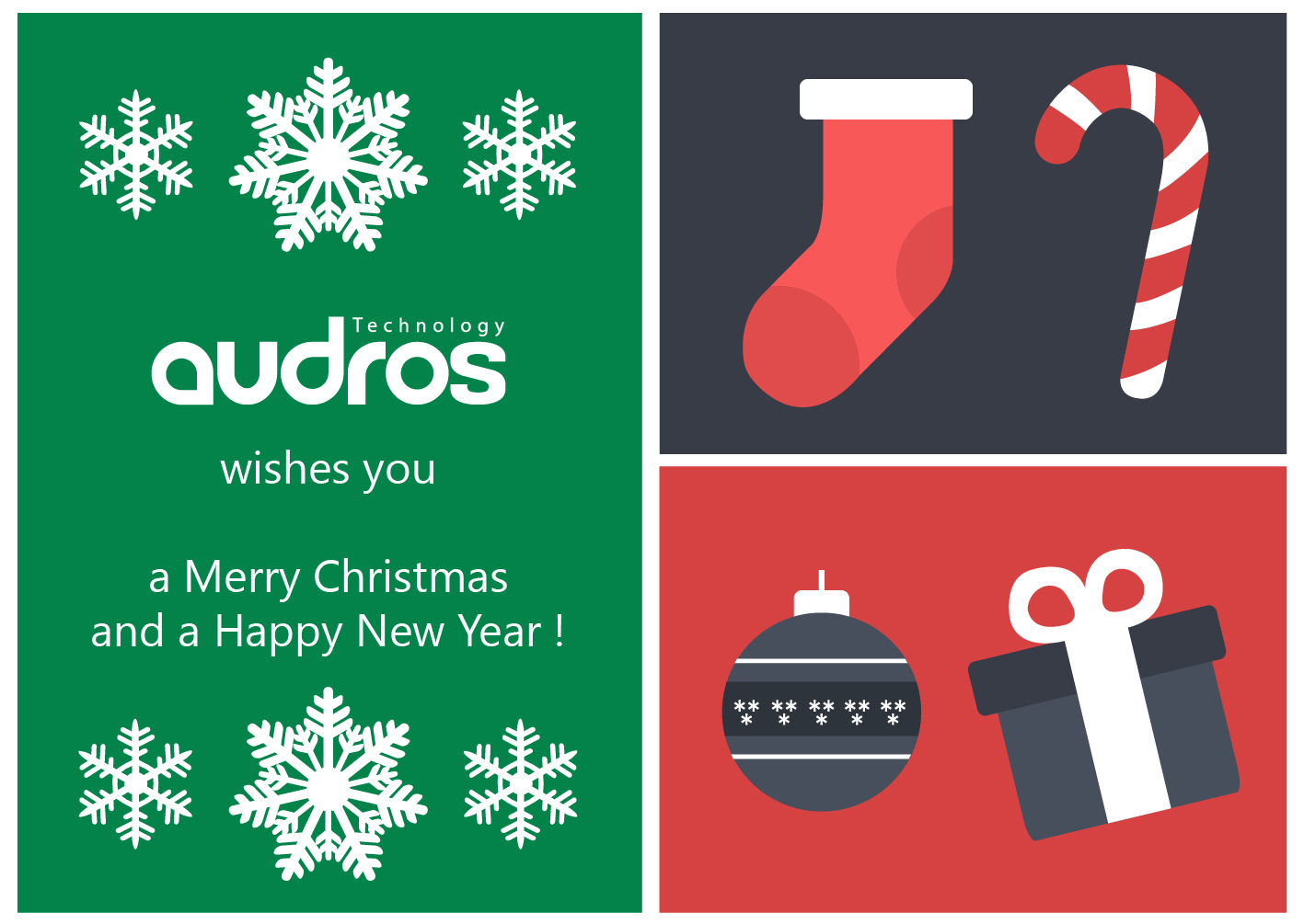 Best wishes 2019 from Audros
